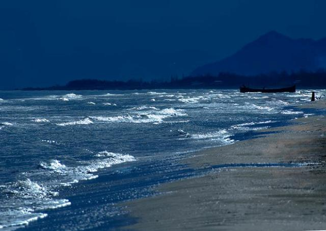 ساحل رامدشت در شهر سرسبز و توریستی رودسر