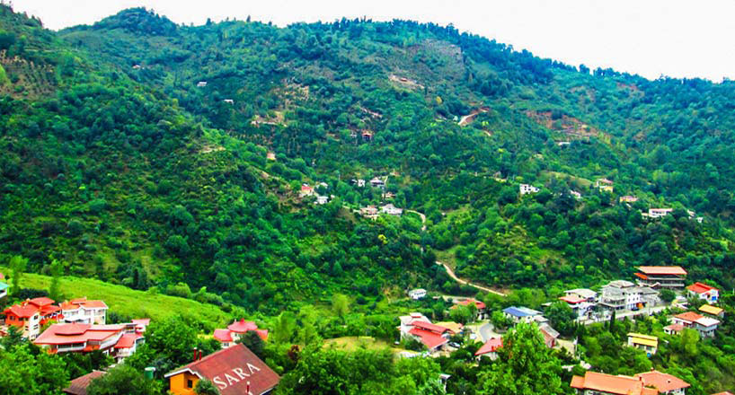 روستای سرولات رود سر در شهر سر سبز و توریستی رودسر